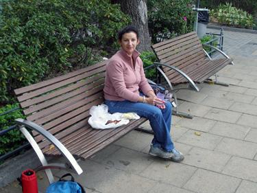 Sheila in park
