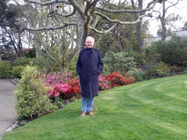 Derek in park