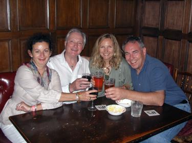 Sheila, Derek, Shari & Allan