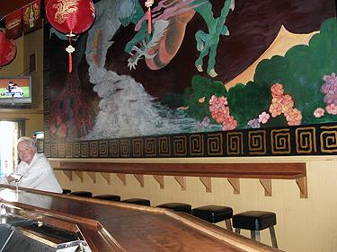 Derek in Buddha Lounge