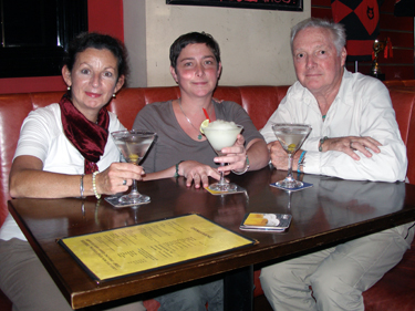 Evening cocktails in Wanchai