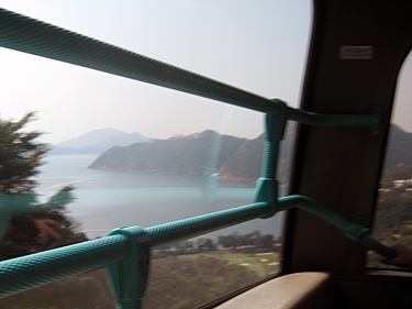 Bus ride to south island