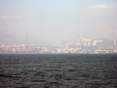 View of harbour from ferry