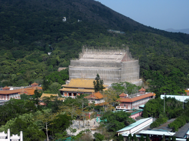 New temple under construction