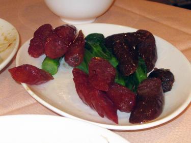 Goose liver sausage