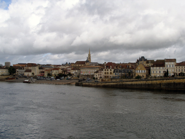 View of town from other side of the river