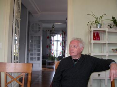 Derek in dining room