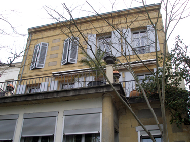 Rear of guesthouse