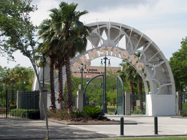 Entrance to Louis Armstrong Park