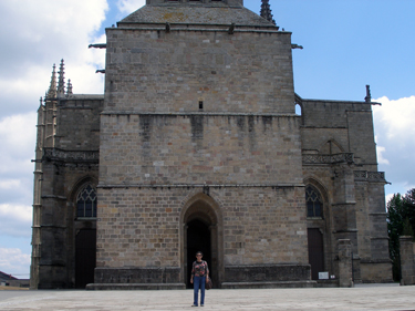 Sheila & cathedral