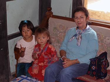Sheila & little friends