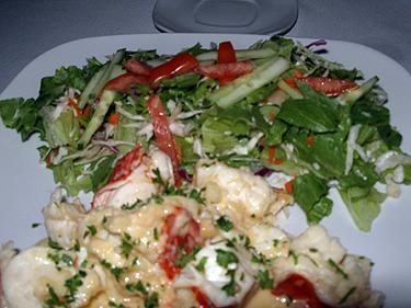 Lobster garlic