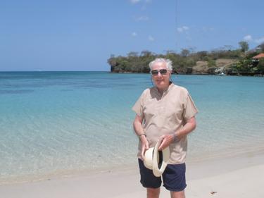 Derek on beach
