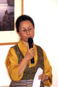 H H The Dali Lama's London representative