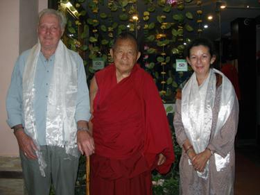 Derek, Lama Chime, Sheila
