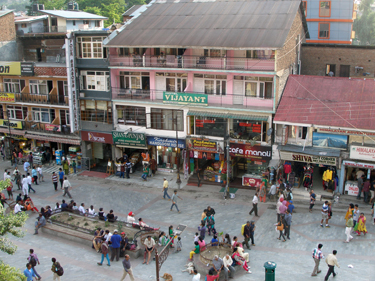 Manali main street