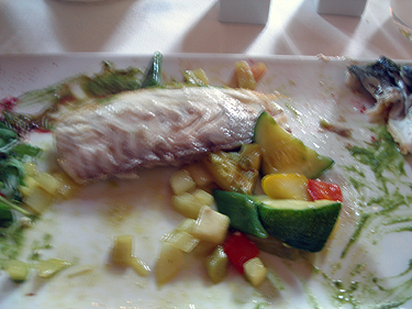 Fish & vegetables