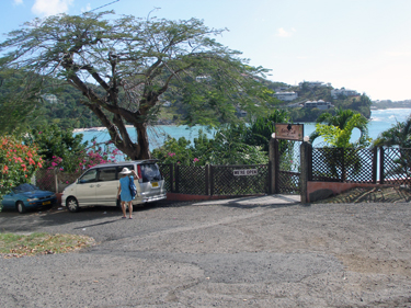Road to Morne Rouge Bay