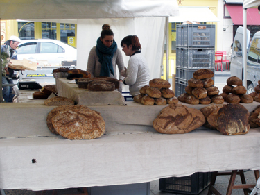 Baker stall