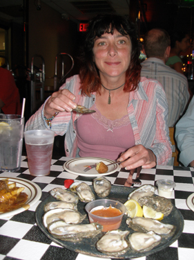 Jade in Acme Oyster House
