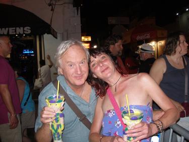 David & Jade on Bourbon Street