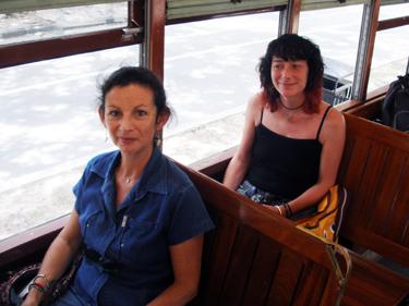 Sheal & jade on streetcar