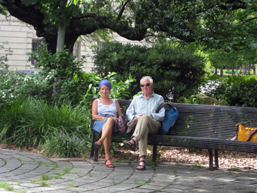 Sheila & Derek in Congo Square
