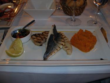Fish main couse