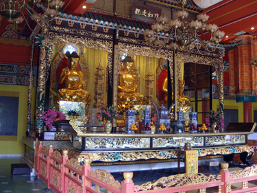 Buddha images in temple