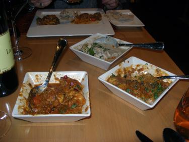 Last dinner in India