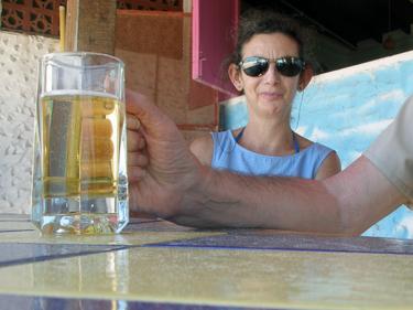 Sheila & beer