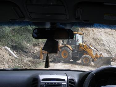 Road blocked again