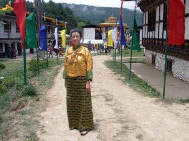 Sheila at festival