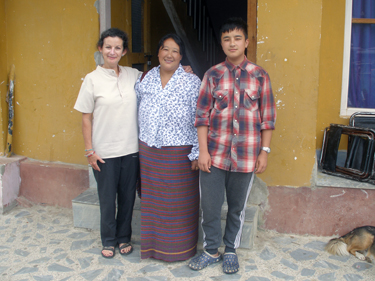 Sheila, Passang & Sonam