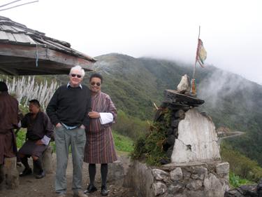 Derek & Karma at high pass