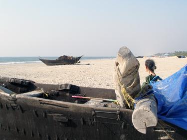 Sheila ta Benauling beach