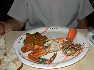 Butter, garlic & pepper crab