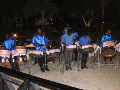 The Coyaba New Dimensions Steel Band