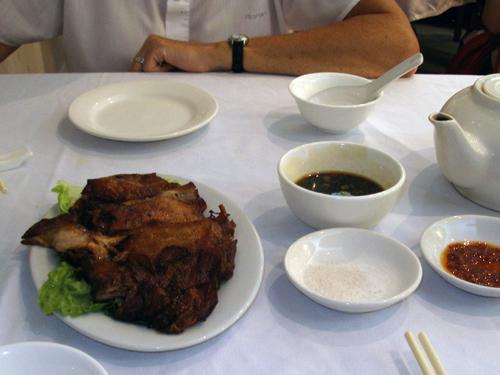 Deep fried mutton