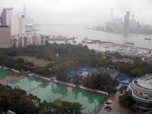 Wet & misty day