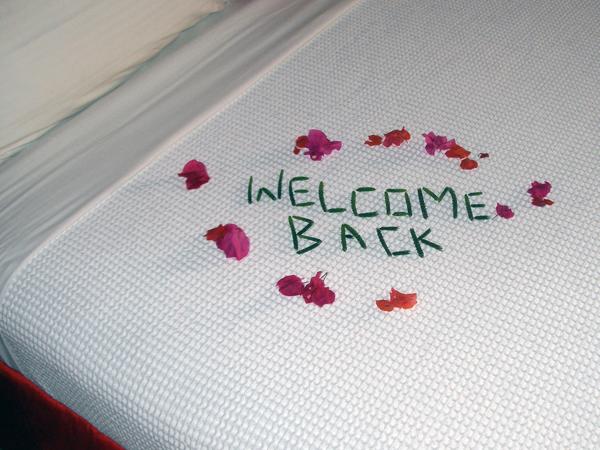 Floral message