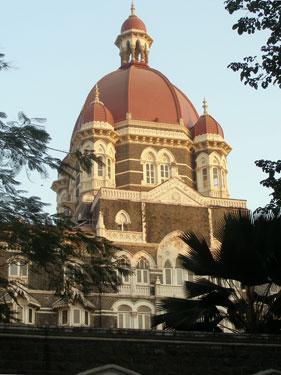 Rear of Taj Mahal Palace