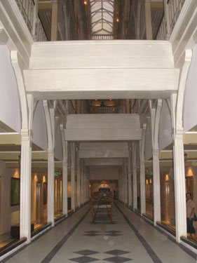 Corridor on second floor