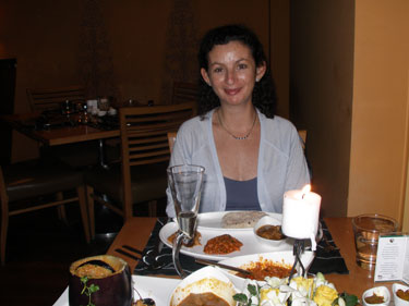 Our Silver Wdding Anniversay celebration meal