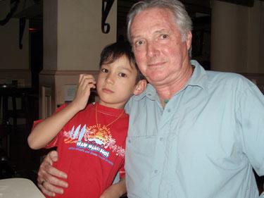 "John & ""Uncle"" Derek"