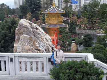 Garden adjacent to Chi Lin nunnery in Diamond Hill
