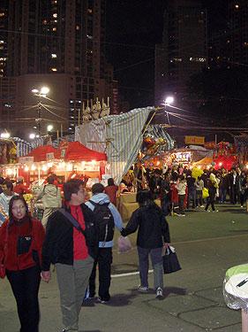 New Year Fair in Victoria Park