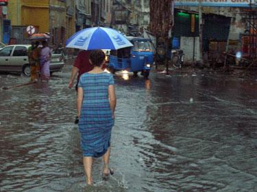 Chennai in the rain