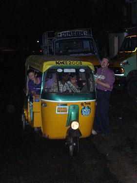 Family in auto-rickshaw