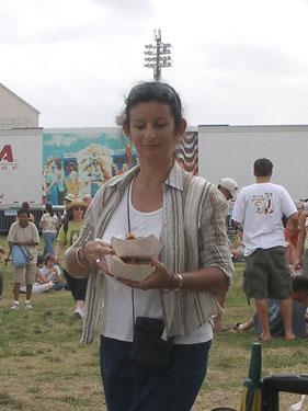 Food at Jazzfest